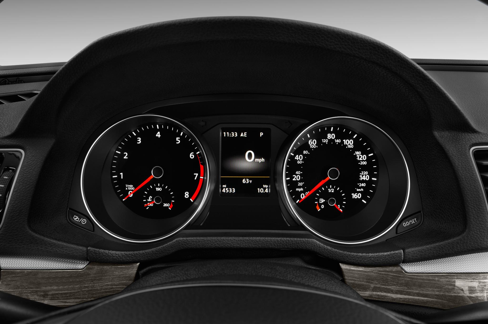 volkswagen passat 2014 dashboard