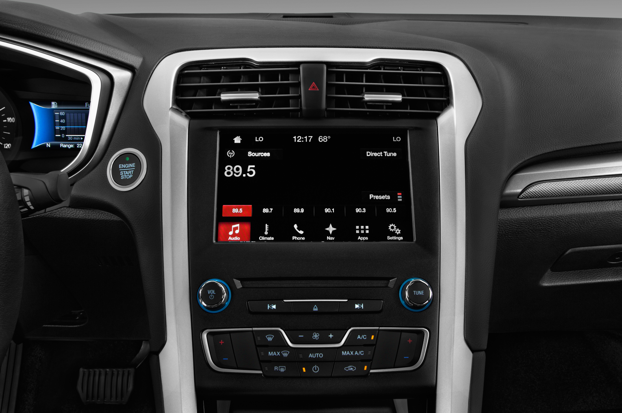 Updated Ford Fusion Hybrid Autonomous Car Looks Sleek Automobile 2007 Radio Display 48 57