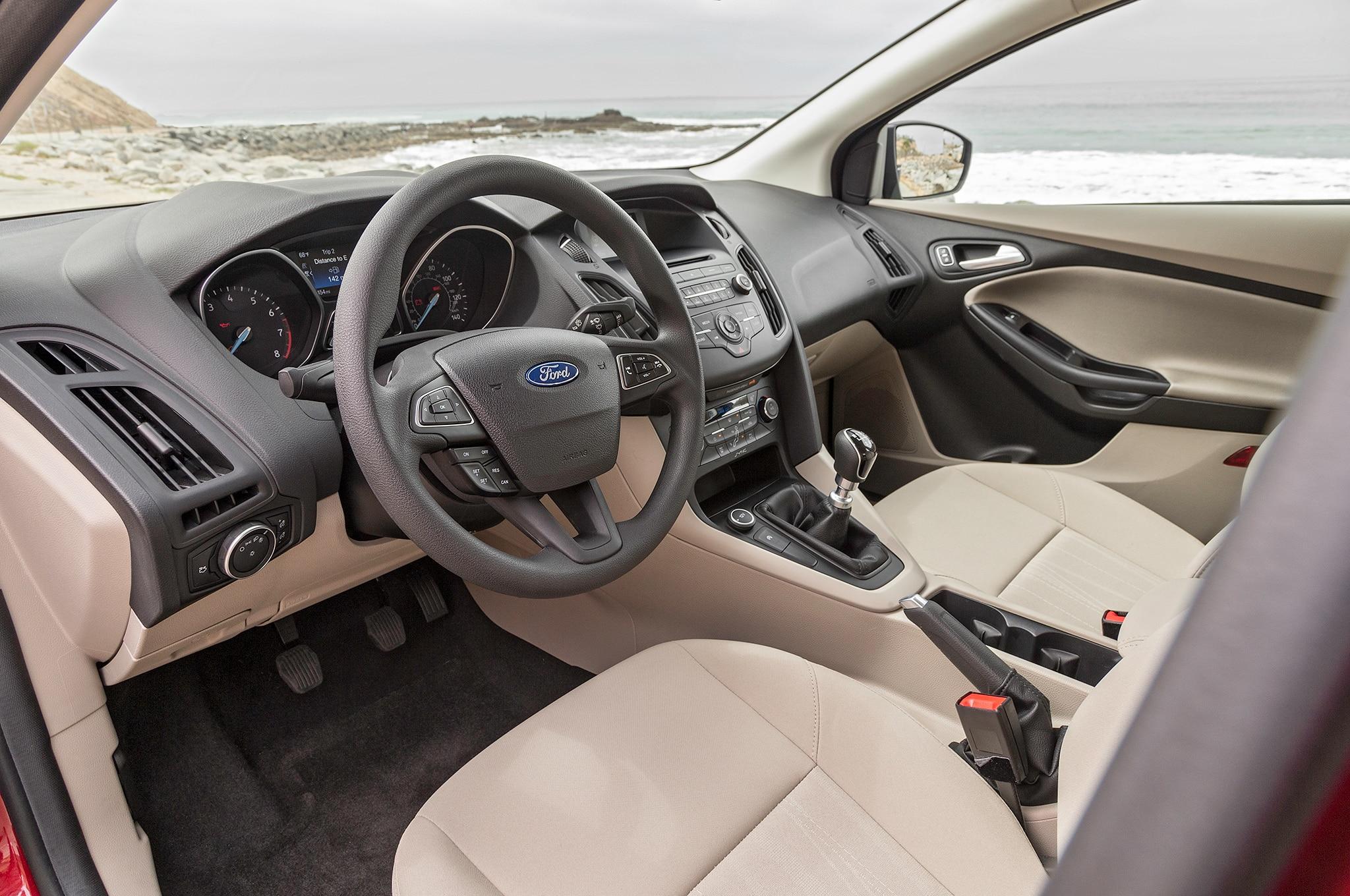 Ford Focus Sedan 2016 Interior