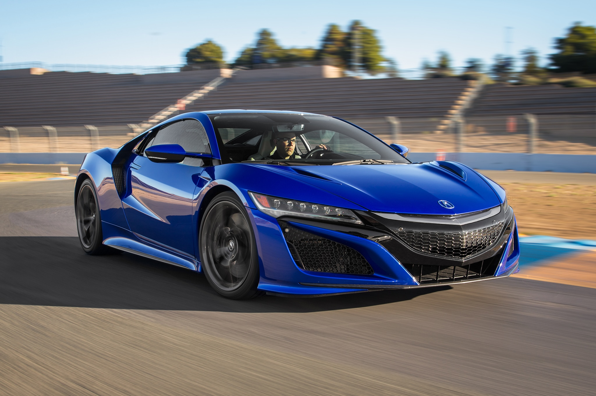 Acura NSX GT3 Race Car Storms into New York Auto Show