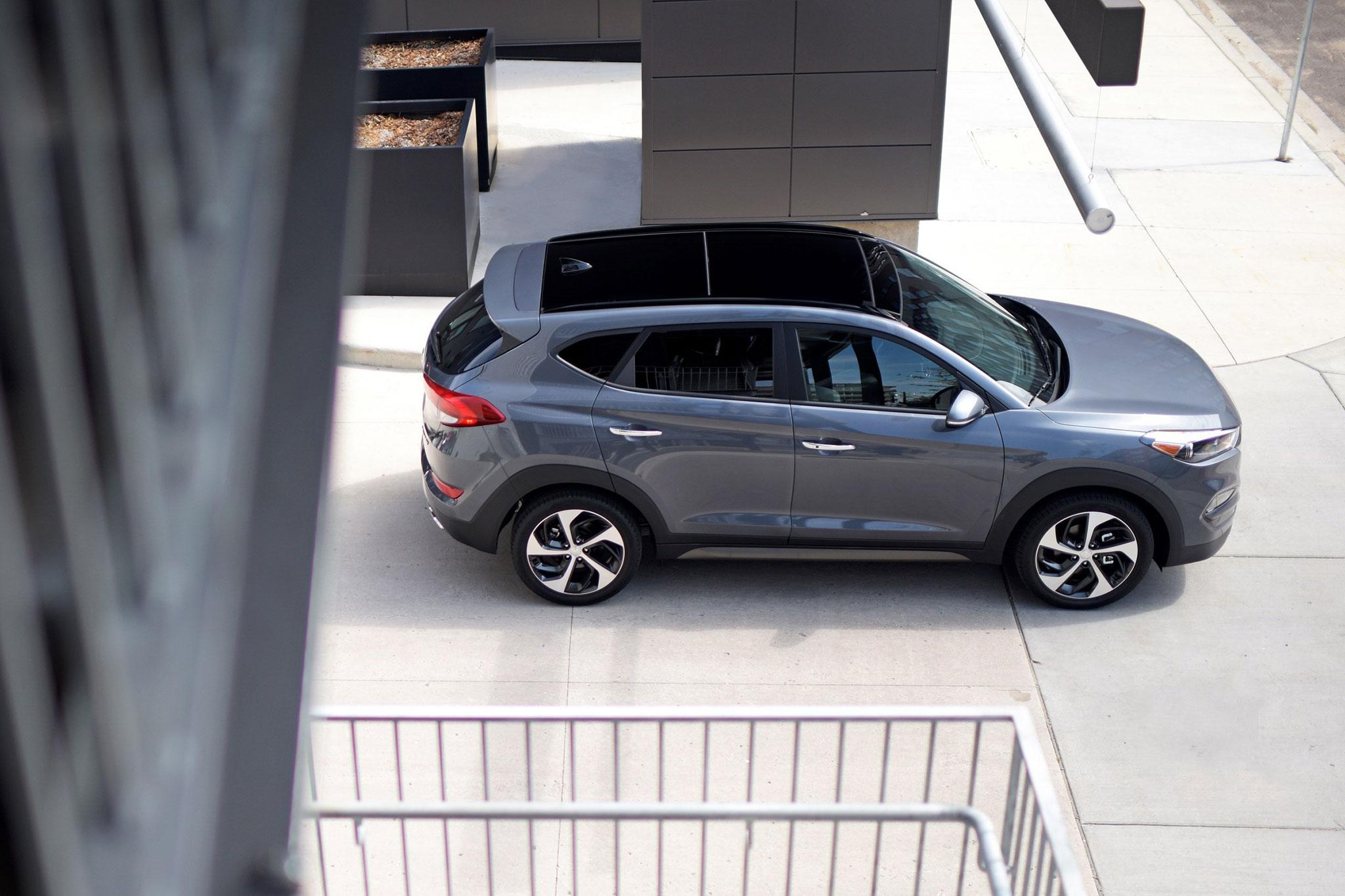 Sema 2016 Hyundai Tucson Night Edition Unveiled