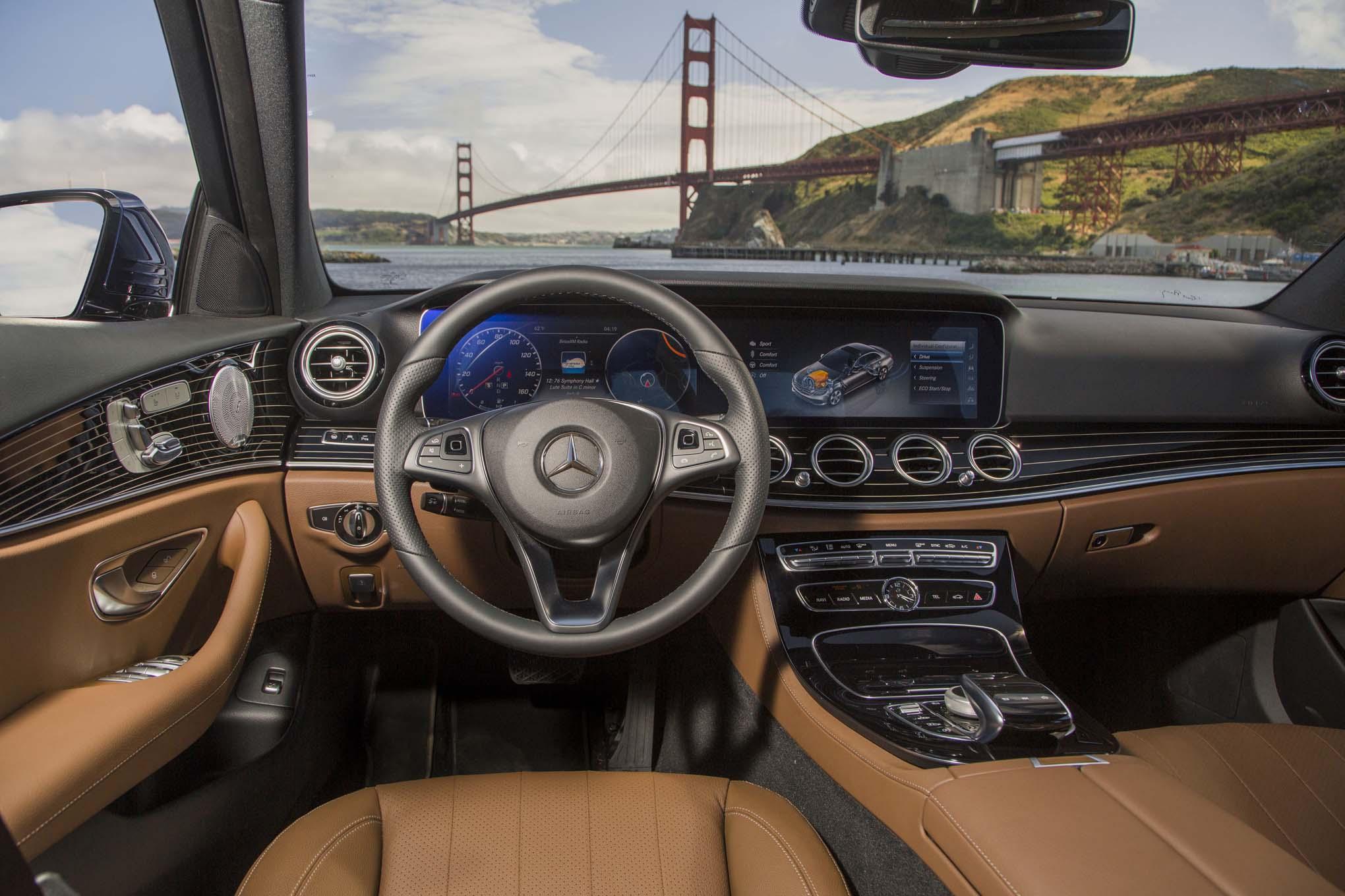 6 New Tech Features On The 2017 Mercedes Benz E Class