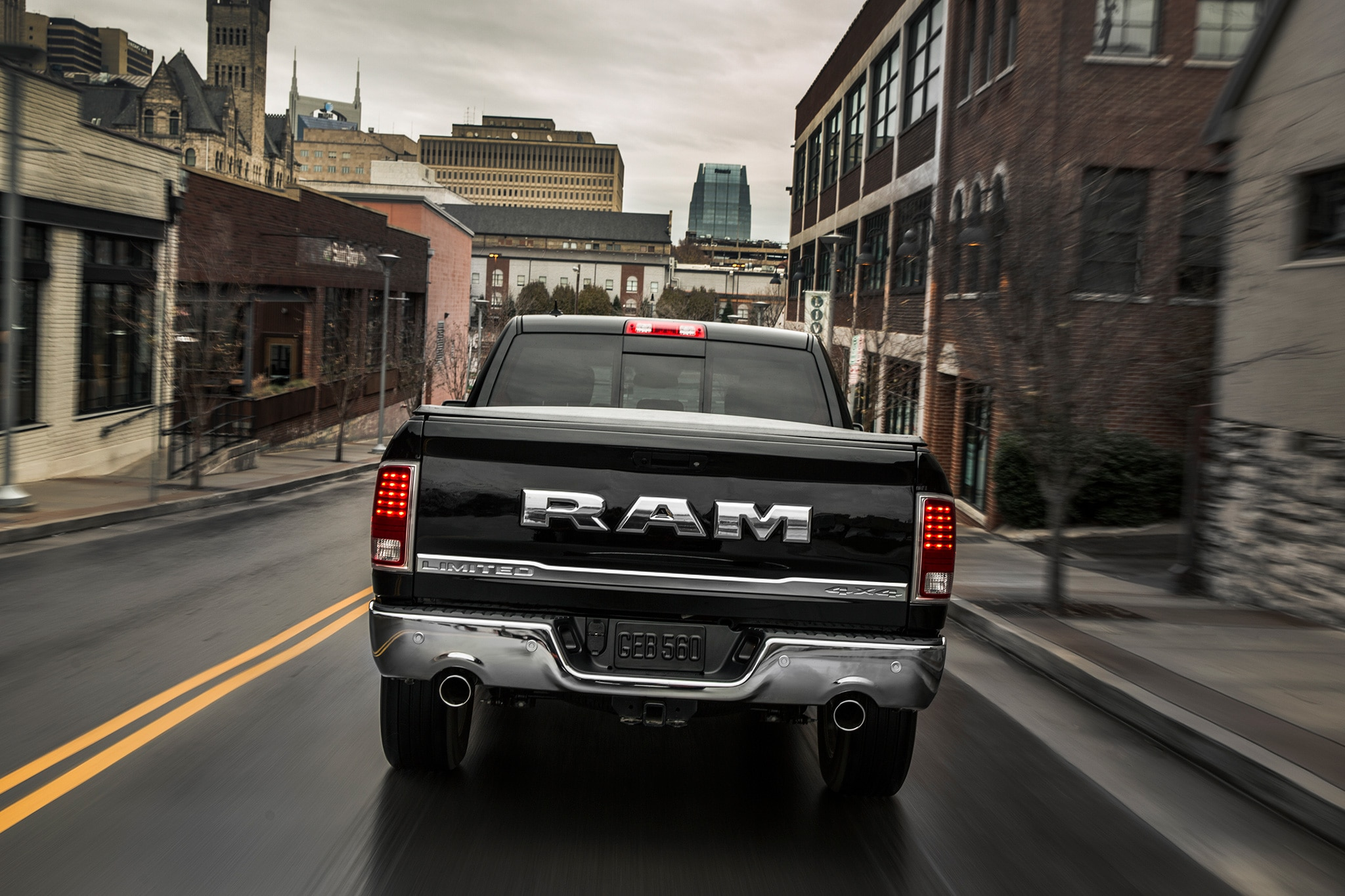 2017 Ram 1500 Rebel Spiced Up With New Delmonico Red Paint