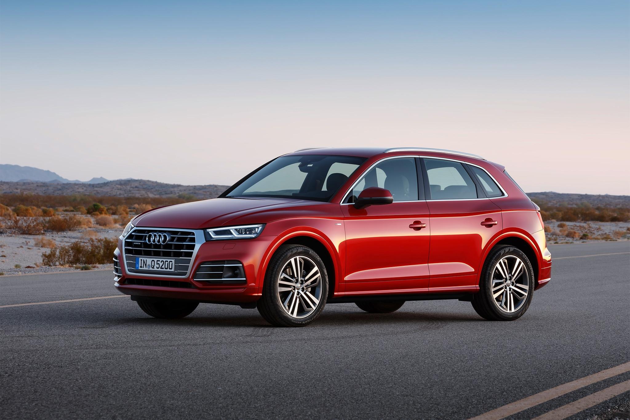 2018 Audi Q5 vs  2018 Audi SQ5 | Automobile Magazine