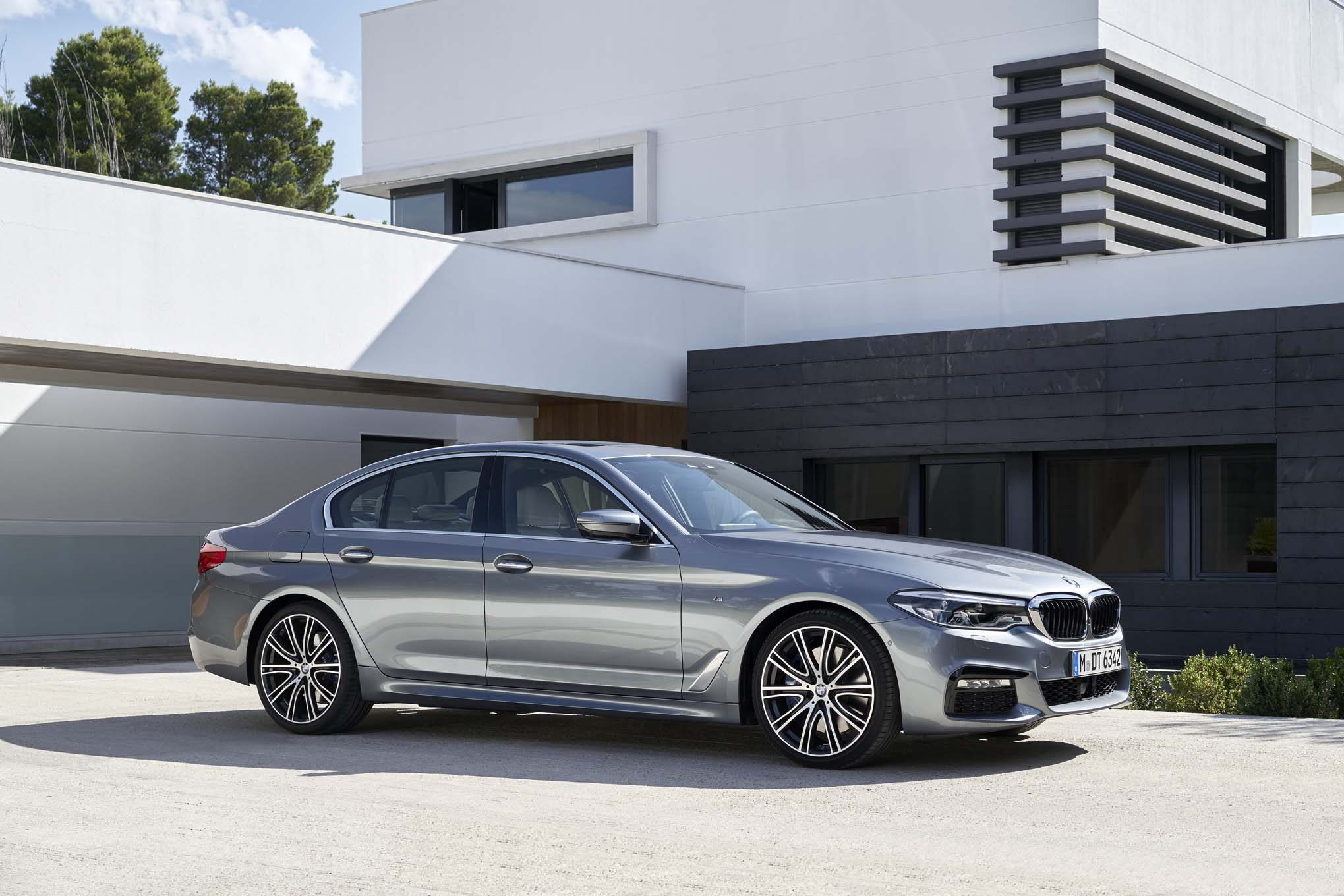 Bmw 5 Series Gets M Performance Upgrades Automobile Magazine