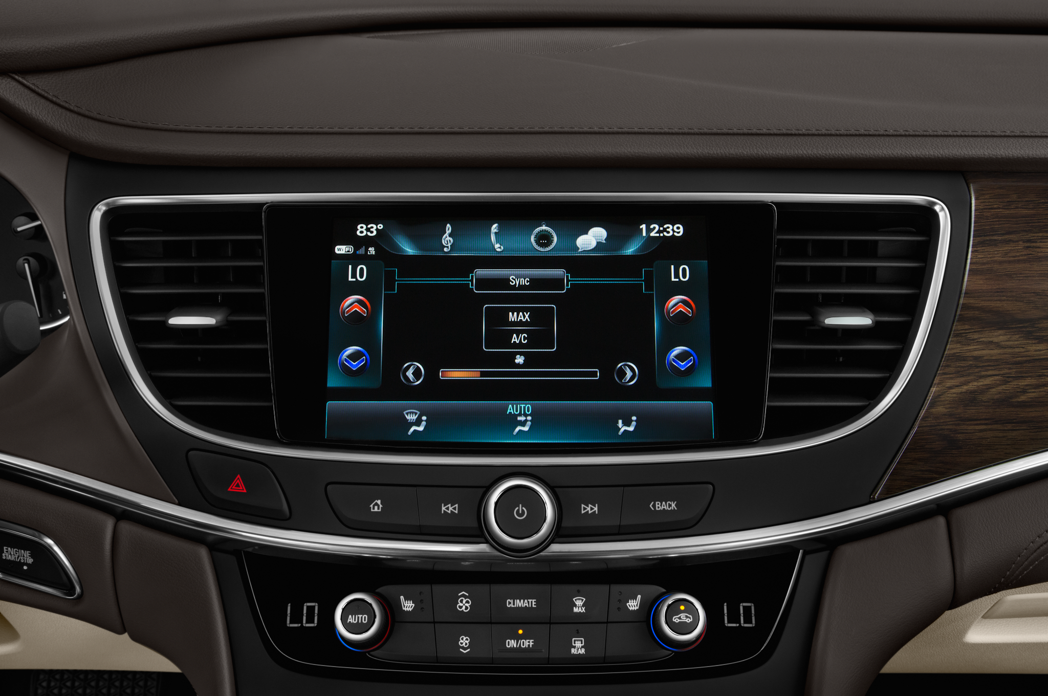 Buick LaCrosse: Control Buttons