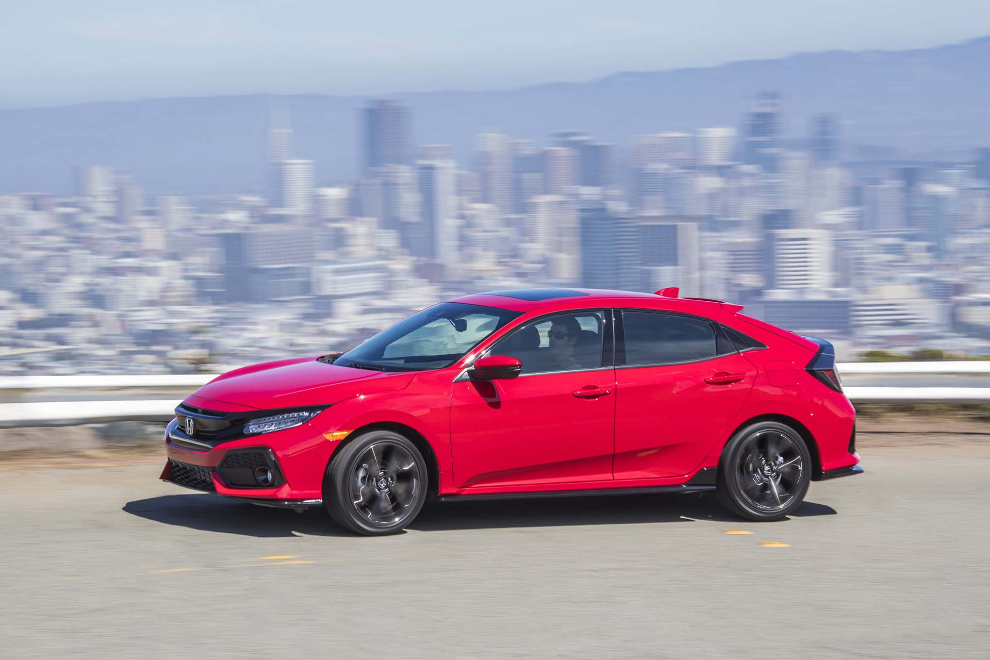 2017 Honda Civic Hatchback Starts At 20 535 Automobile Magazine
