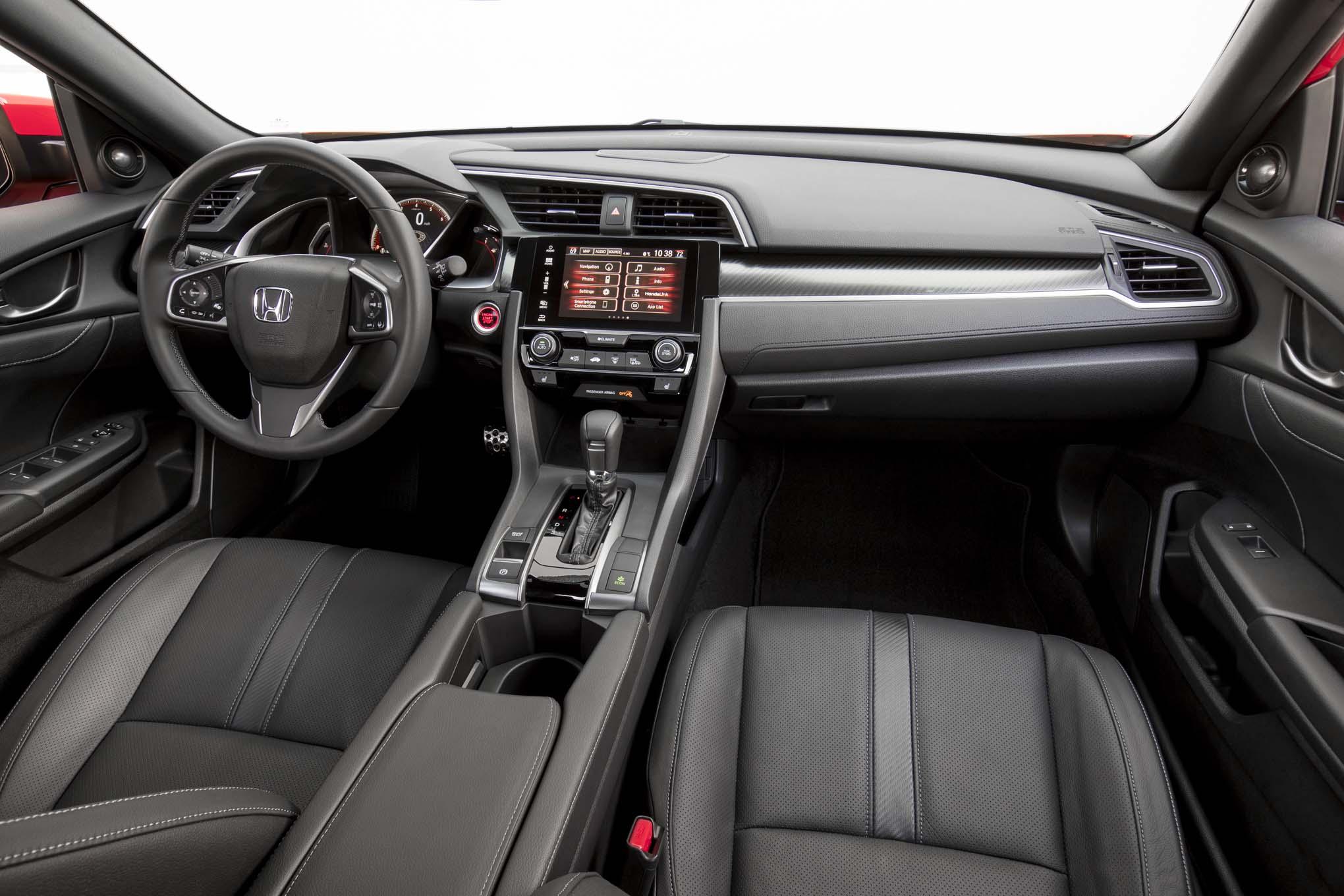 Civic Sedan Interior: 2017 Honda Civic Hatchback Starts At $20,535