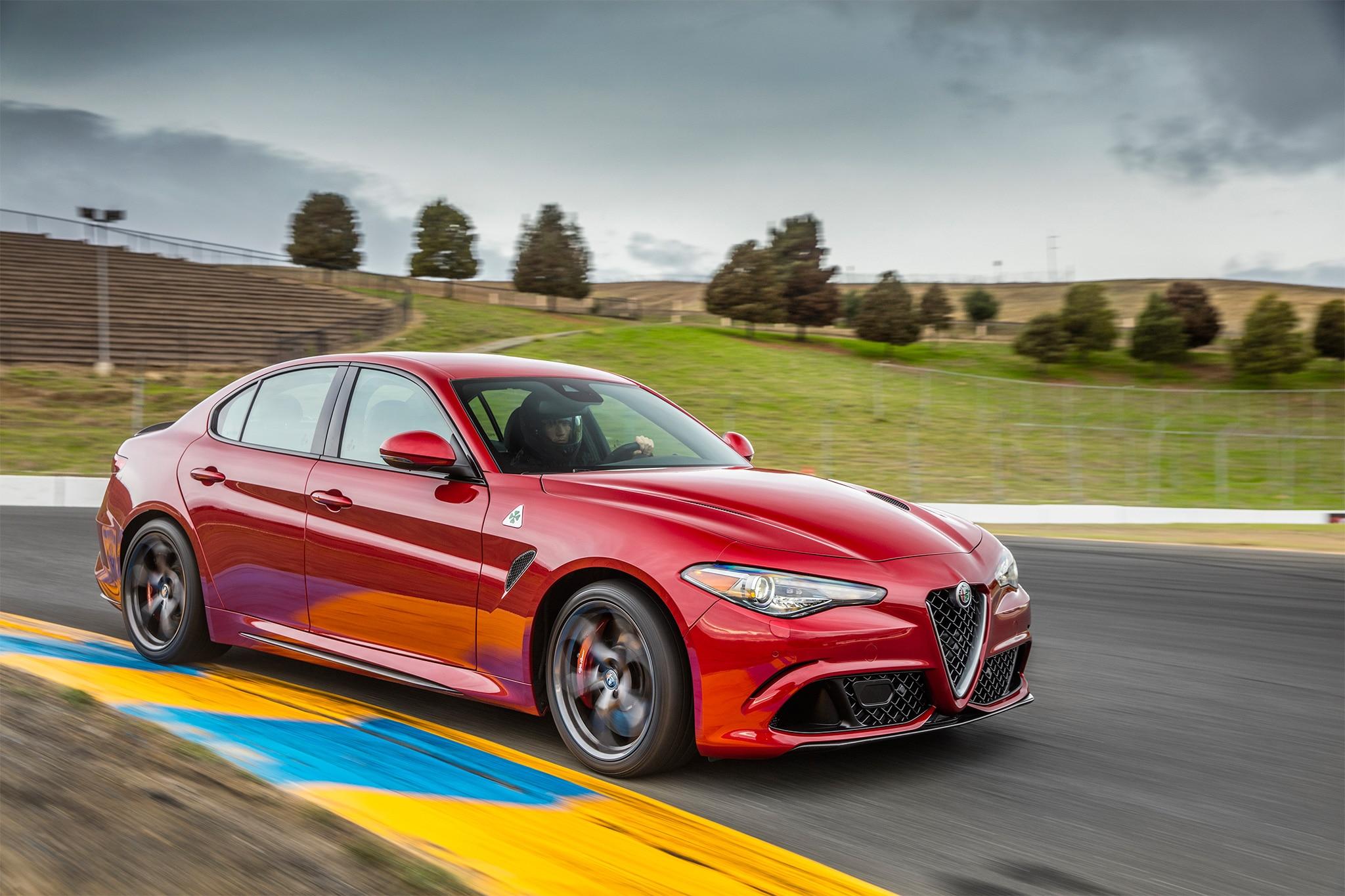 2017 Alfa Romeo Giulia >> 2017 Alfa Romeo Giulia Quadrifoglio One Week Review   Automobile Magazine