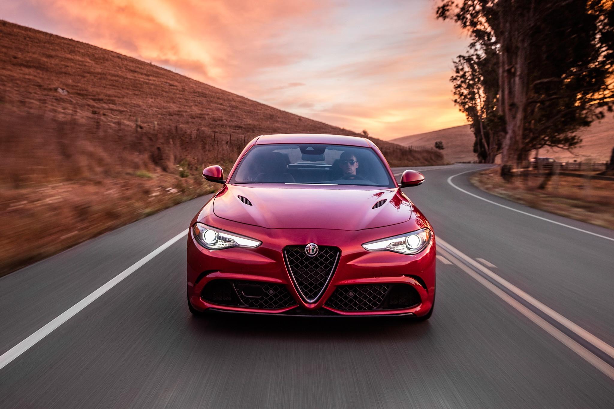 2017 Alfa Romeo Giulia Quadrifoglio, Giulia Ti Engine Details.