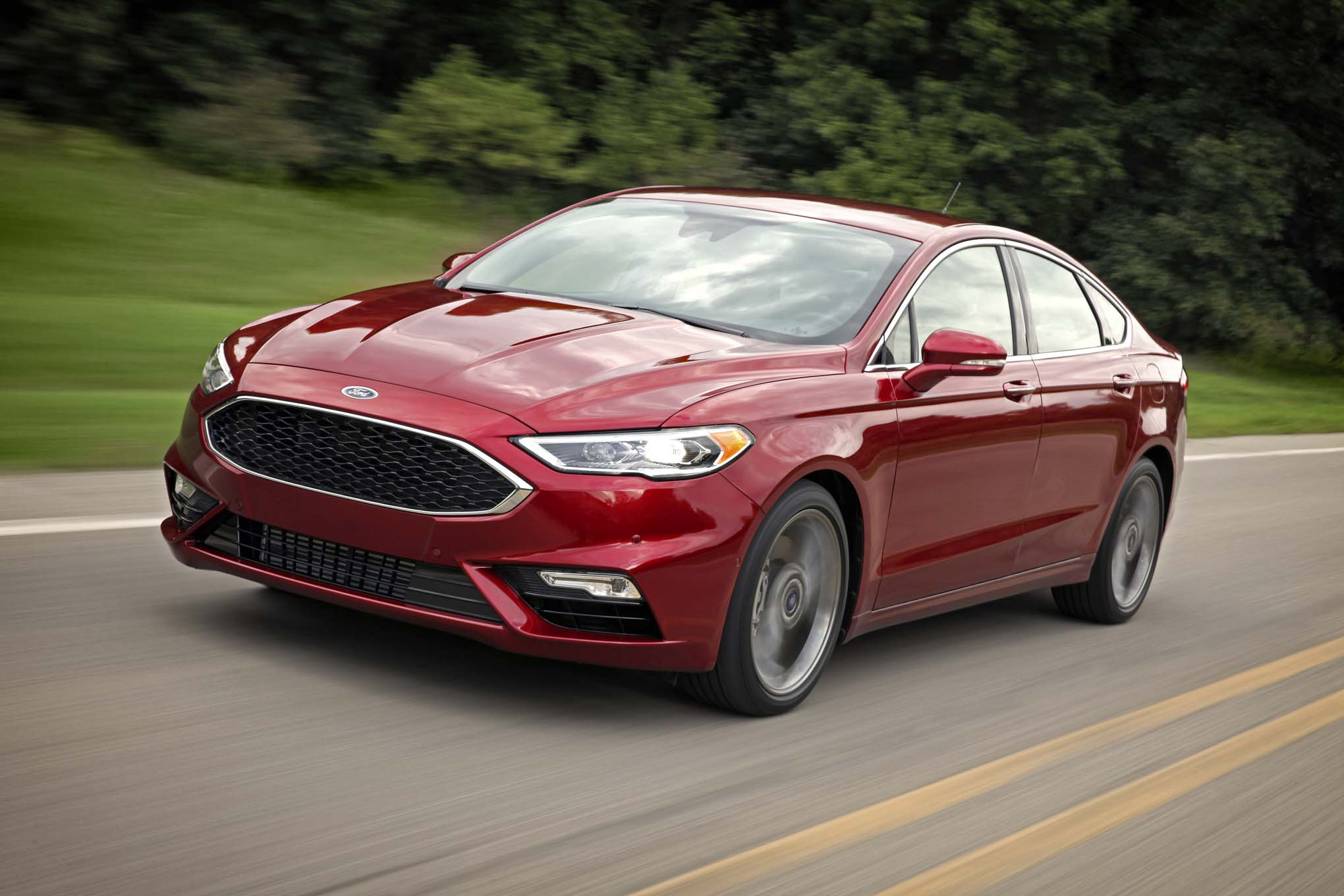 2017 Ford Fusion Refreshed For Detroit Adds 325 Hp V6 Sport Model Headlight Relay 92 Chevy Pickup Besides 77 Truck Wiring Diagram 18 119