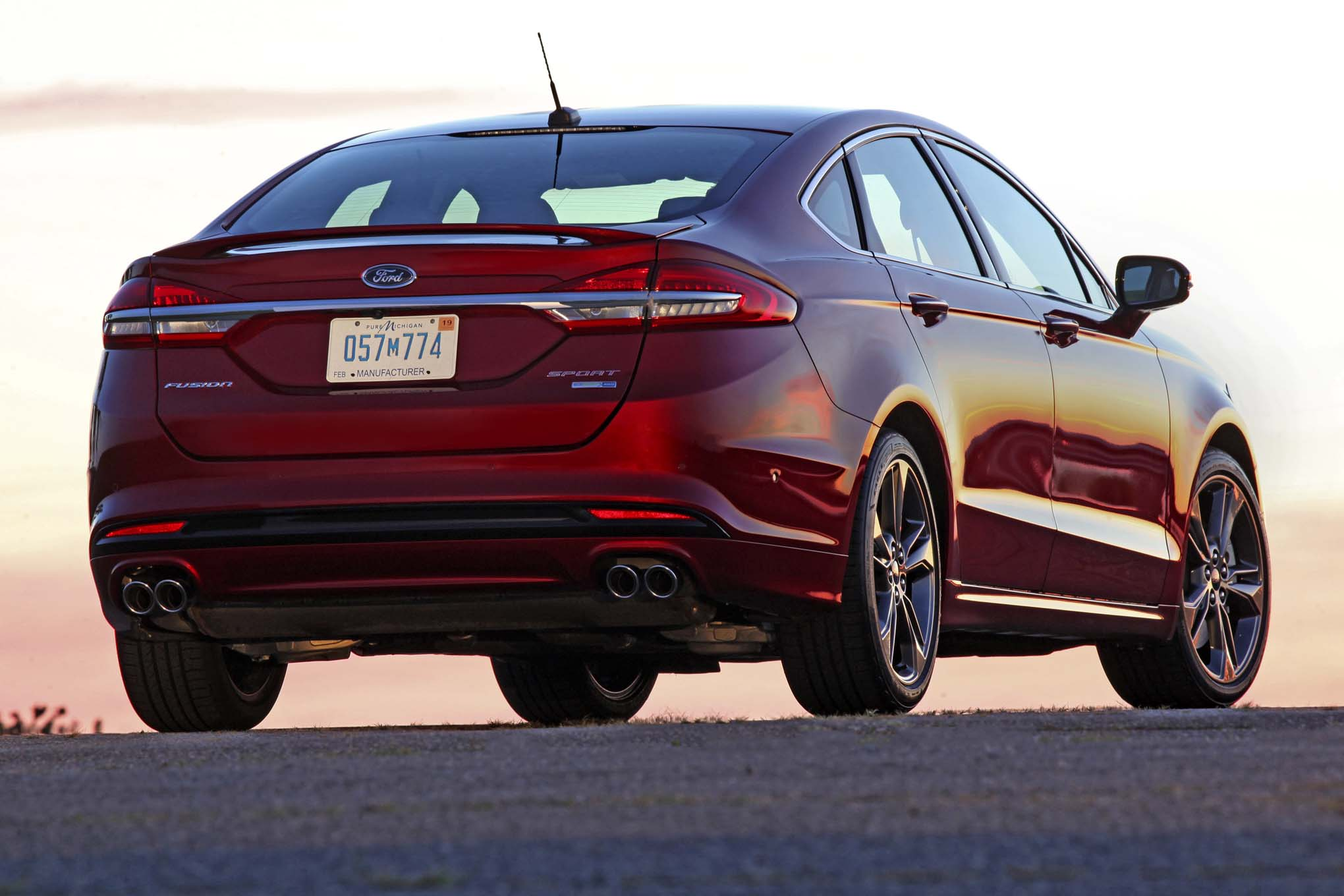 2017 ford fusion review for Motor city performance plus