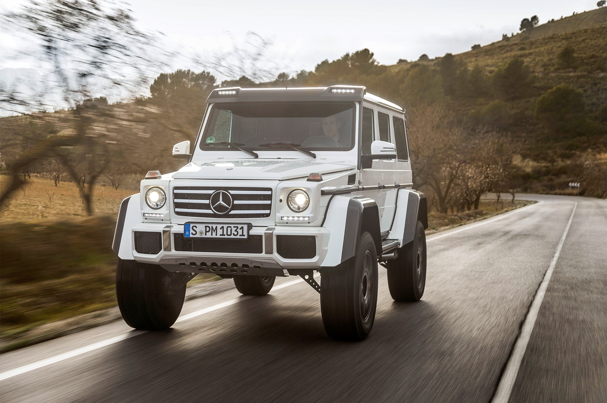 2017 Mercedes-Benz G 550 4x4^2 One Week Review | Automobile Magazine