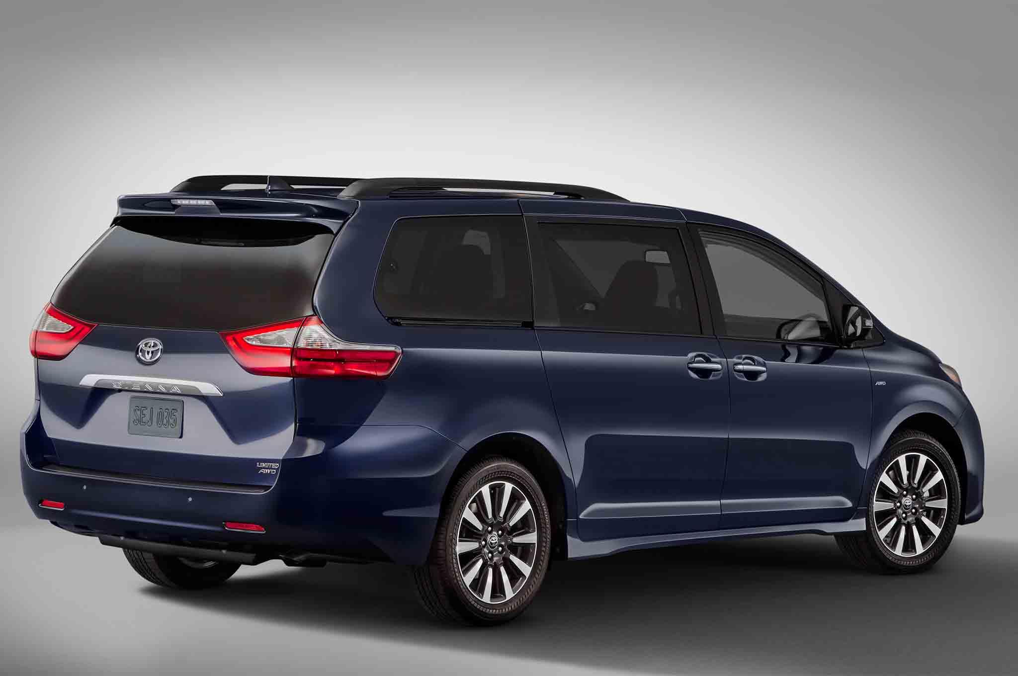 Toyota Van 2018 >> 2018 Toyota Sienna Quick Take Review