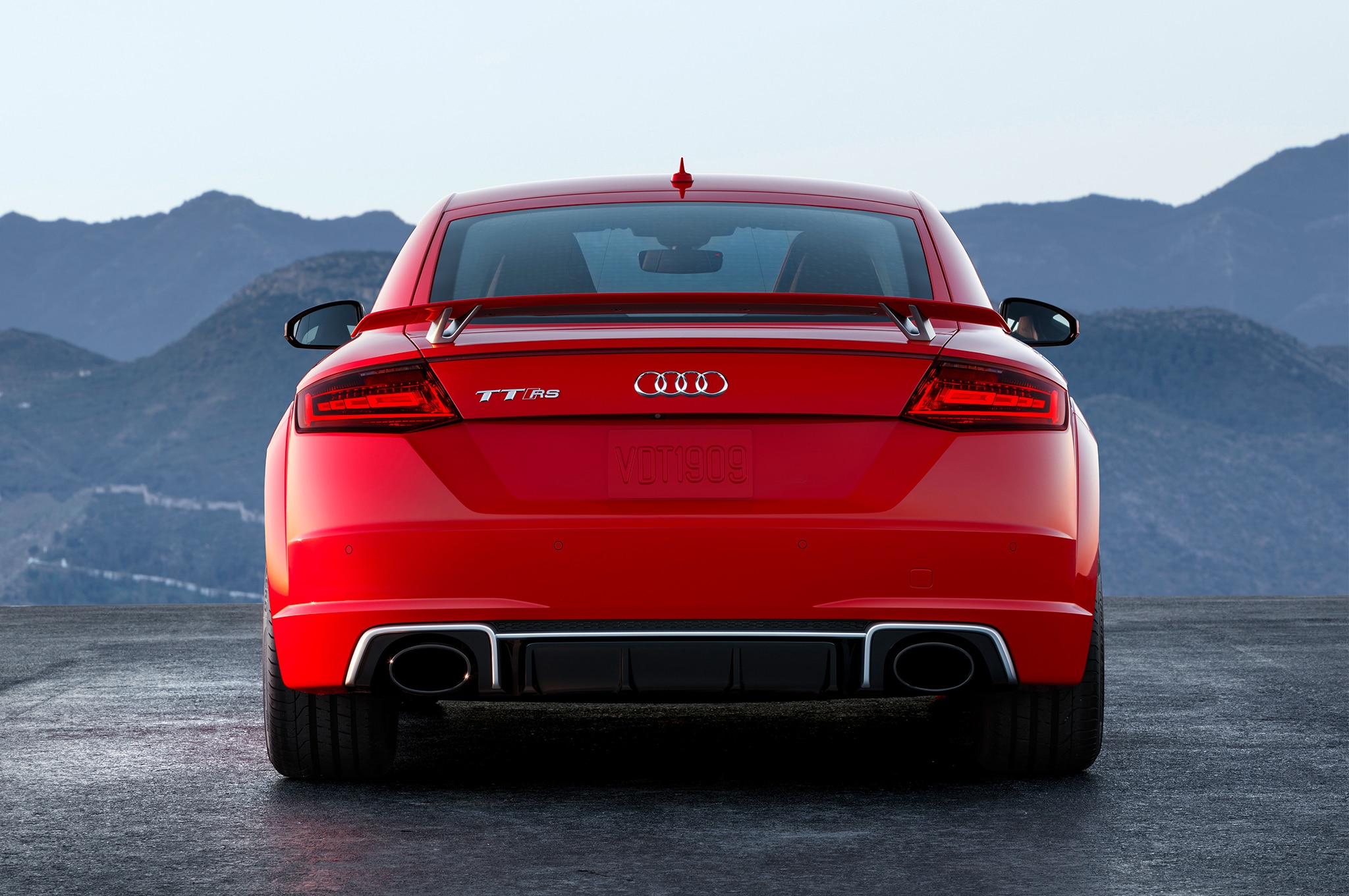 2018 Audi TT RS U.S. Spec First Drive Review | Automobile ...