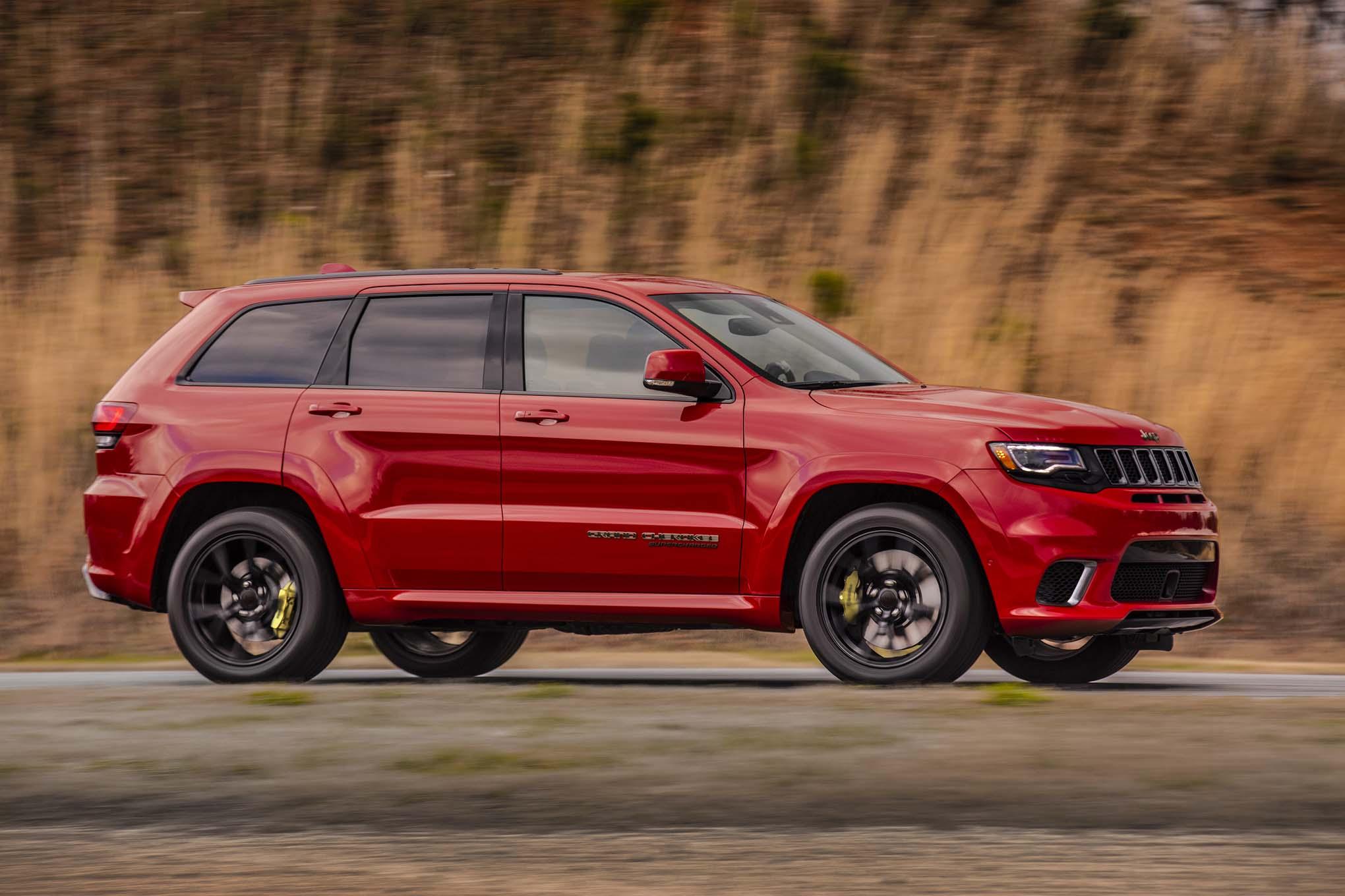 2018 Jeep Grand Cherokee Trackhawk Pricing Announced Automobile