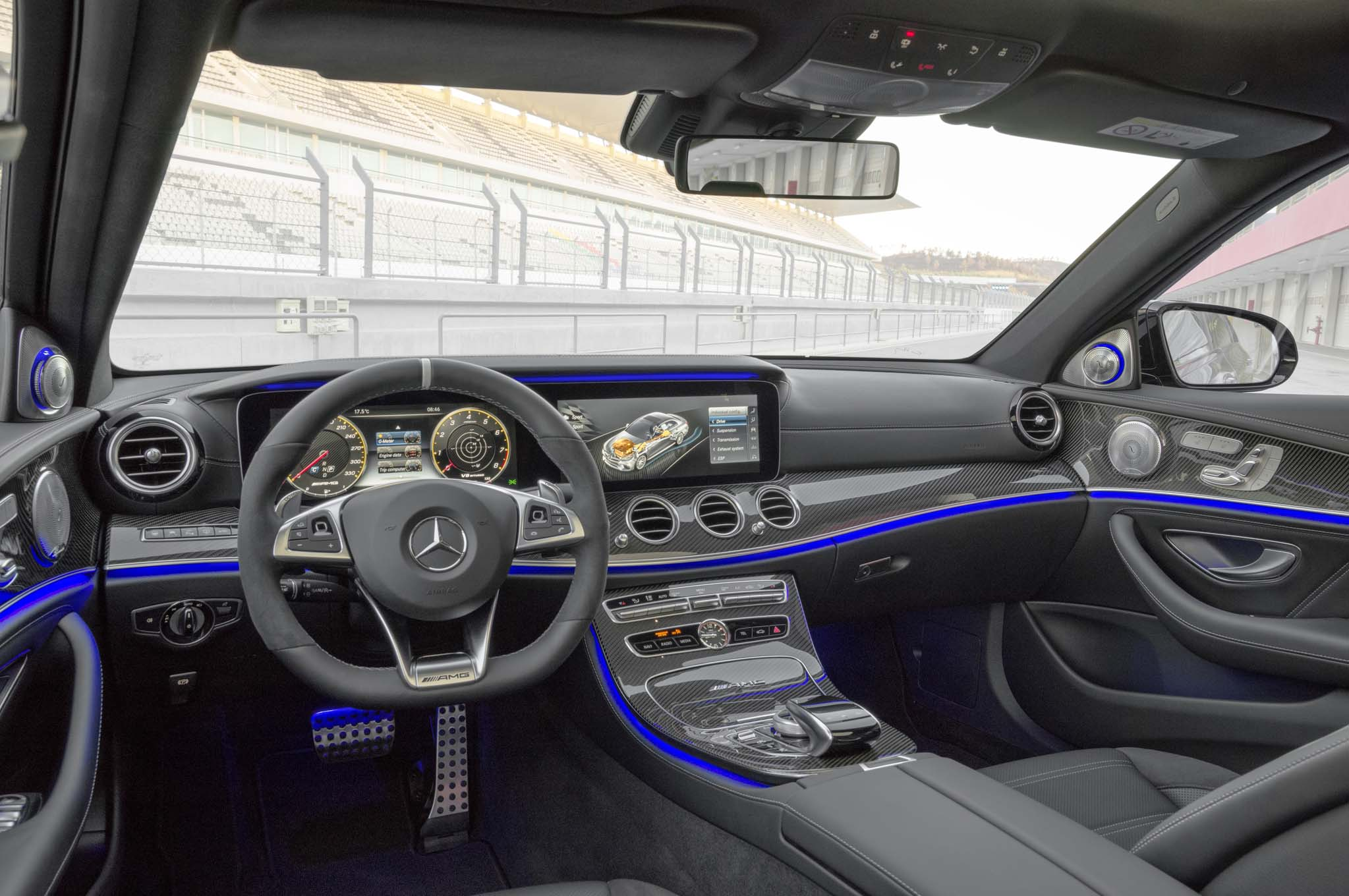 Take A Peek Inside The Mercedes Amg Gt4 S Cabin In These Spy Shots
