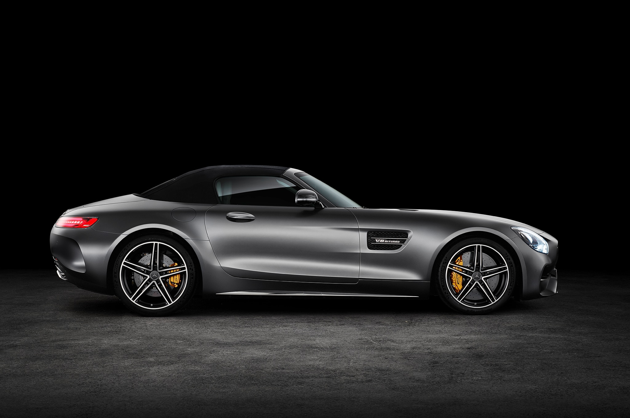 On The Road In The 2018 Mercedes Amg Gt C Roadster Automobile Magazine