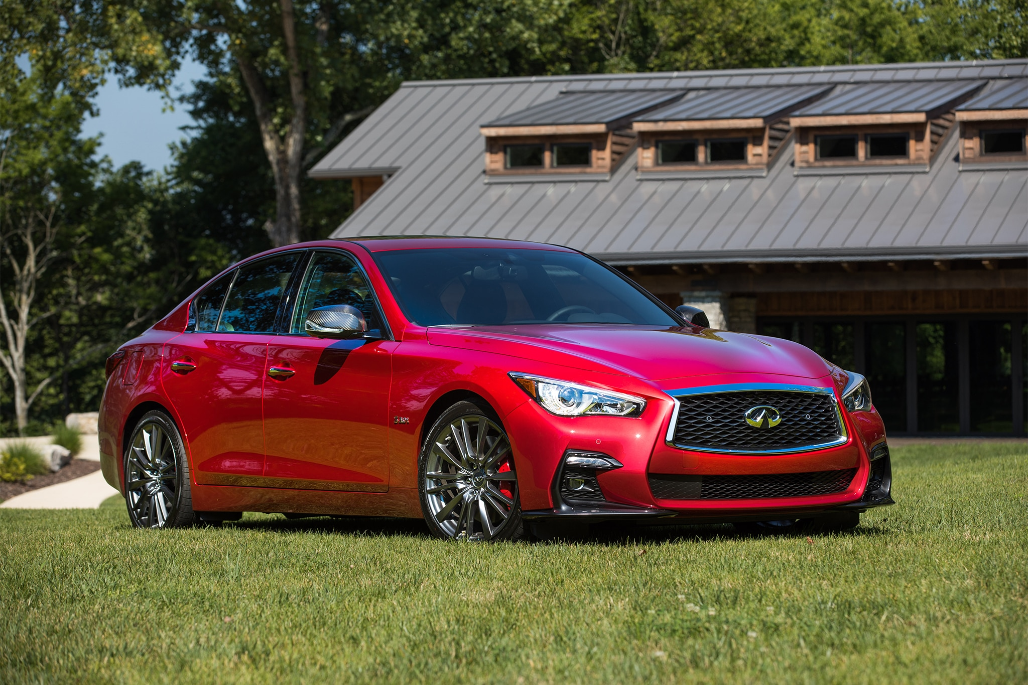 Infiniti Q50 0 60 >> 2018 Infiniti Q50 Red Sport 400 First Drive Review Automobile Magazine