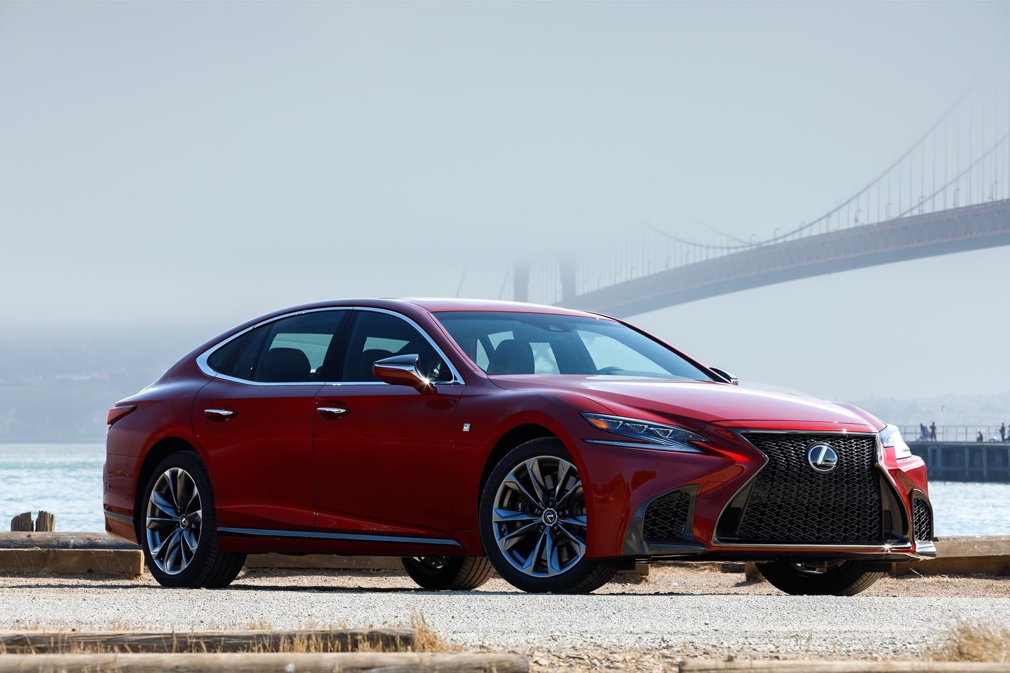 2018 Lexus LS 500 F Sport Adds Visual Aggression, Handling ...
