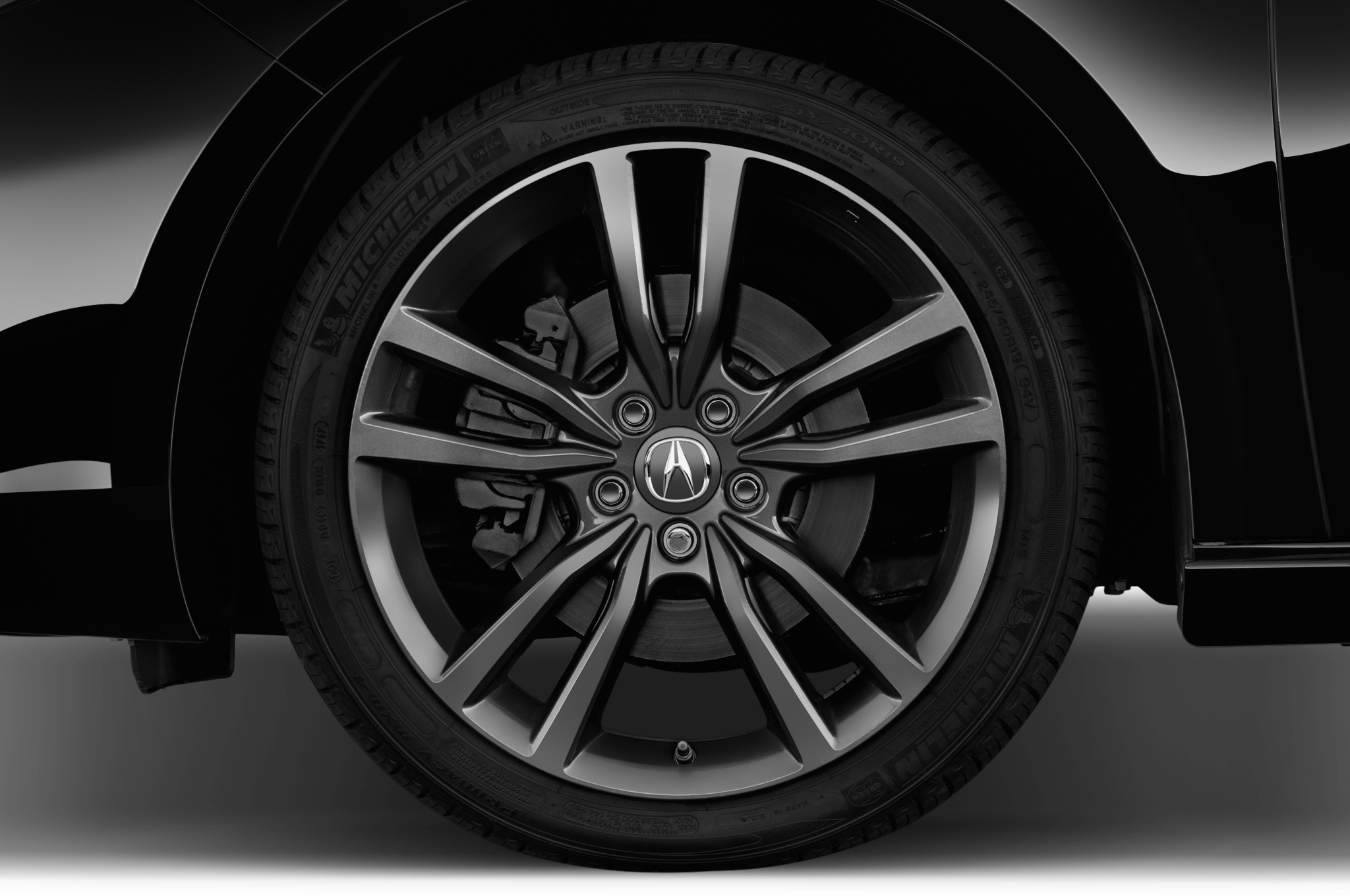 Five Details That Make The Acura TLX ASpec Automobile Magazine - Tires for 2018 acura tl