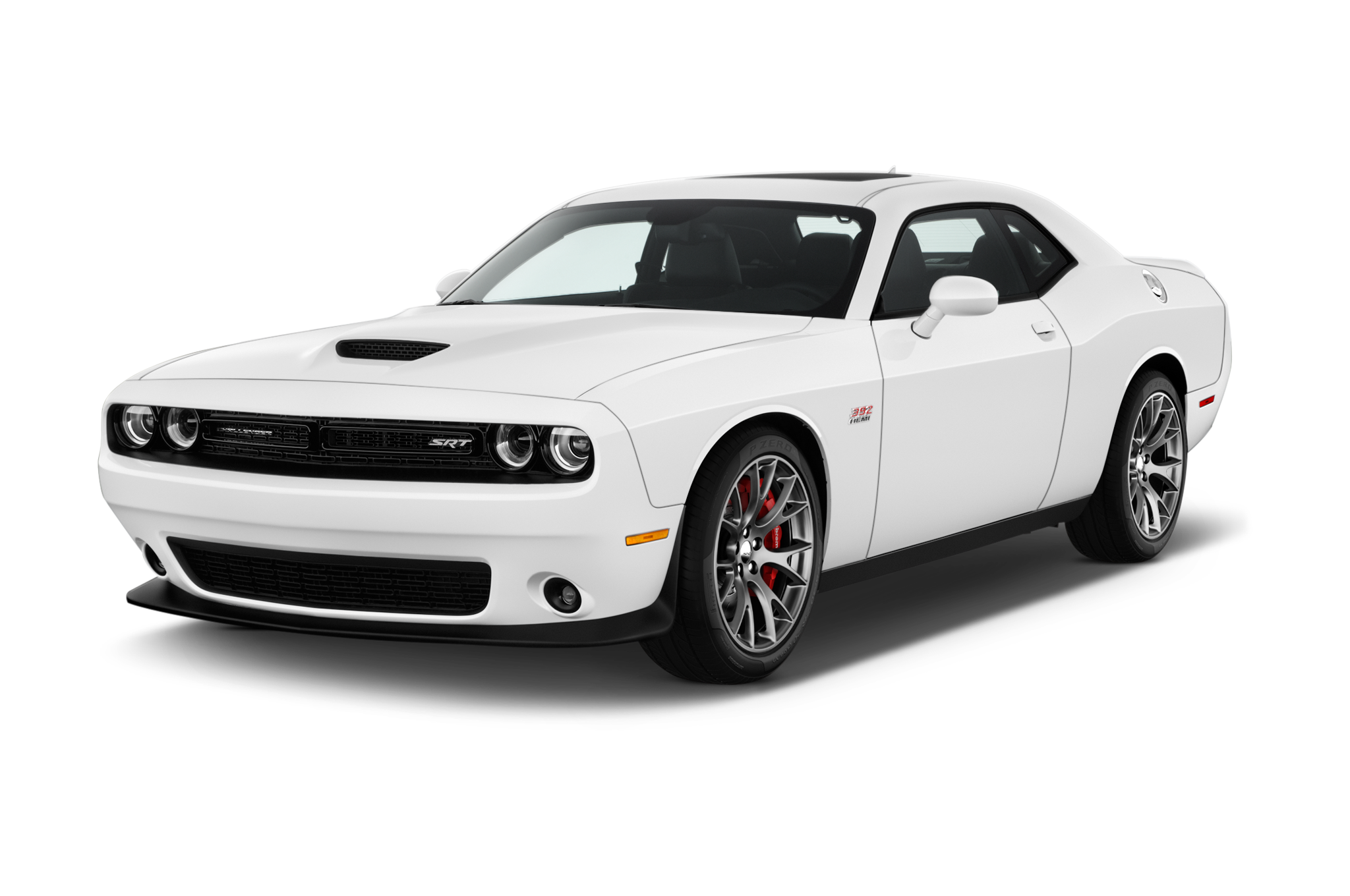 Dodge Challenger - predatory oil mask from the past
