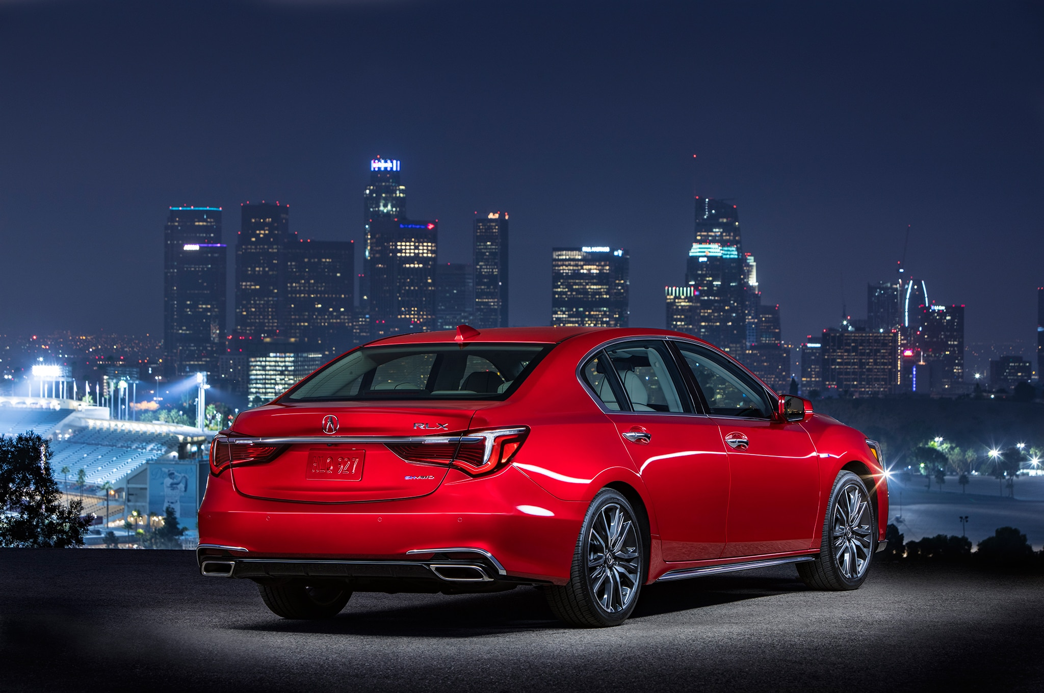 2018 Acura RLX Arrives with New Diamond Pentagon Grille ...