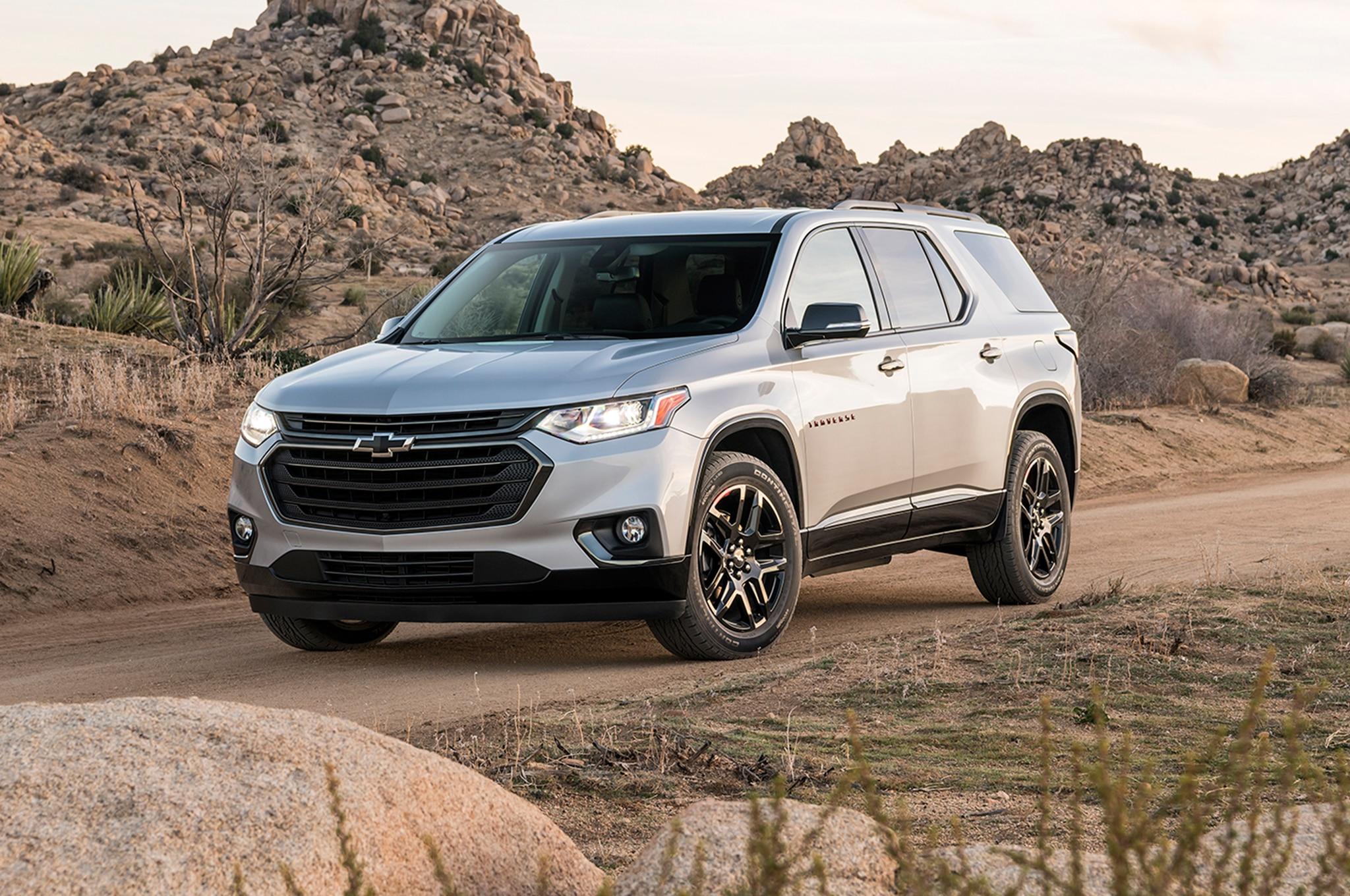 2018 Chevrolet Traverse FWD Premier Quick Take Review