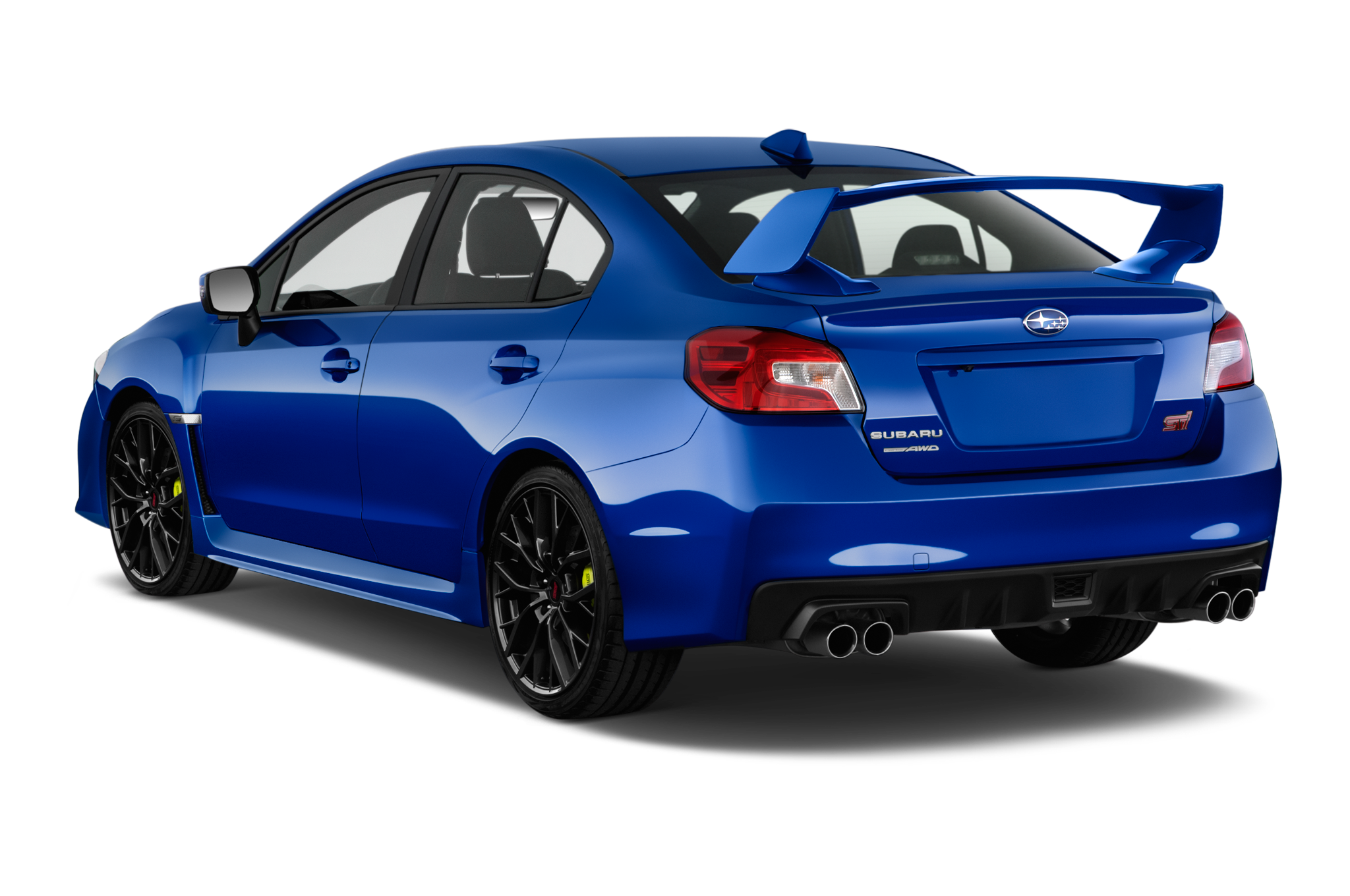 subaru updates the wrx and sti for 2018 with new face. Black Bedroom Furniture Sets. Home Design Ideas
