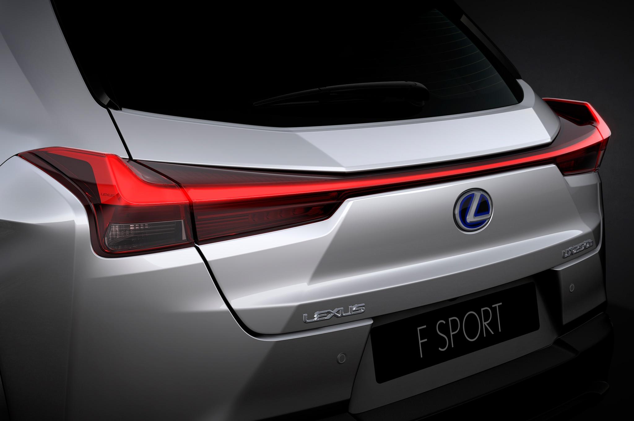 Lexus Ux H Rear