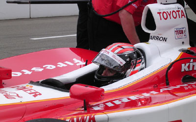 Alex Barron will drive the #20 Meijer G ForceToyota in Arie Luyendyk's place.