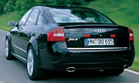 0209 Audi RS6 Rs6pl 2003 Audi RS6 Full Rear View