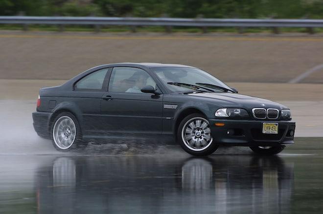 2002 BMW M3 Front Three Quarter In Motion