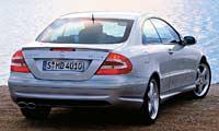 0308_55pl Mercedes_Clk_55_Mercedes_Benz_CLK55_AMG Full_Rear_View