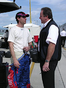 Herta and Barnhart discuss having the same first name.