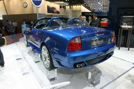 2005 Maserati 90th Anniversary Spyder - Automobile Magazine