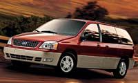 0311 Freestar Pl Ford Freestar Mercury Monterey Ford Freestar Driver Side Front View