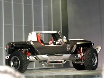 2005 Jeep Hurricane Concept 2005 Naias Detroit Auto Show Coverage