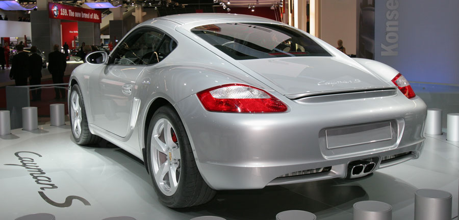 2007 porsche cayman 2006 detroit auto show automobile. Black Bedroom Furniture Sets. Home Design Ideas