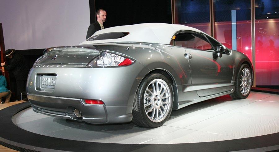 2007 Mitsubishi Eclipse Spyder 2007 New Cars Automobile Magazine