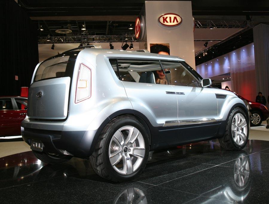 2007 Kia Soul Concept - 2006 Detriot Auto Show ...