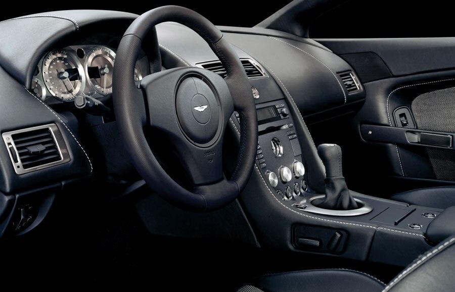 Aston Martin V Vantage Road Test Review Automobile Magazine - 2006 aston martin vantage