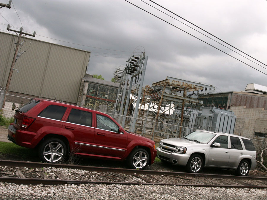 2006 Chevrolet Trailblazer SS Vs. 2006 Jeep Grand Cherokee SRT8   SUV  Comparison Road Test Review   Automobile Magazine