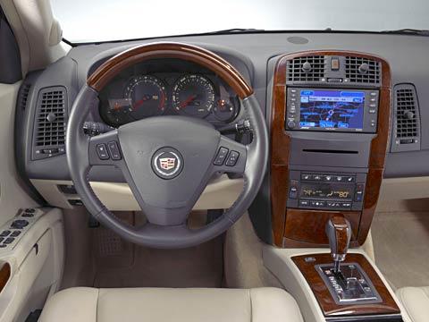 Old 2006 Cadillac SRX Interior