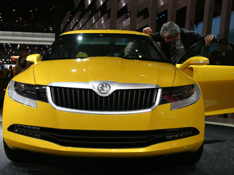 2006 Skoda Joyster Concept Latest News Auto Show Coverage And