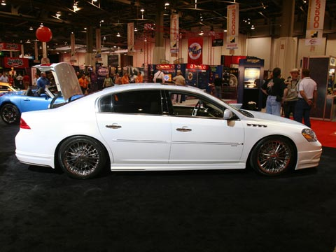 Buick Lucerne Cxx Luxury Liner By Rick Bottom Custom Motor Motor1