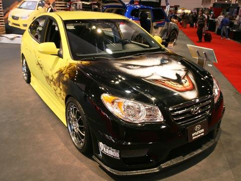 2007 Hyundai Elantra David Bensend Performance Marketing