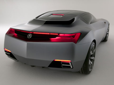 2007 Acura Advanced Sports Car Concept Latest News Features And