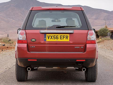 0702_z 2007_land_rover_LR2 Rear