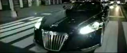 """jay z drives the maybach exelero concept in """"lost ones"""""""